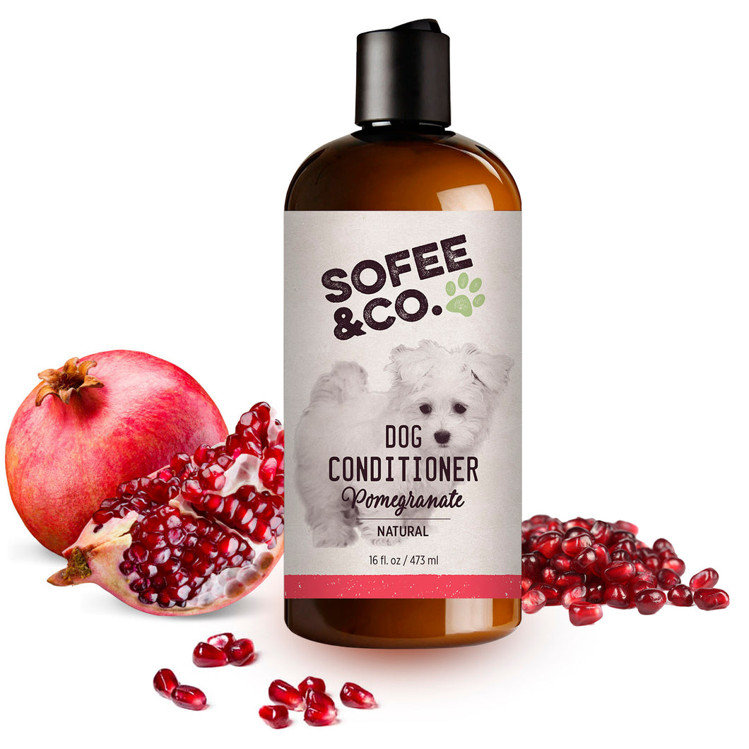 Natural Dog Conditioner - Pomegranate