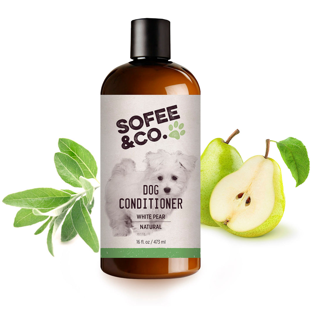Natural Dog Conditioner - White Pear