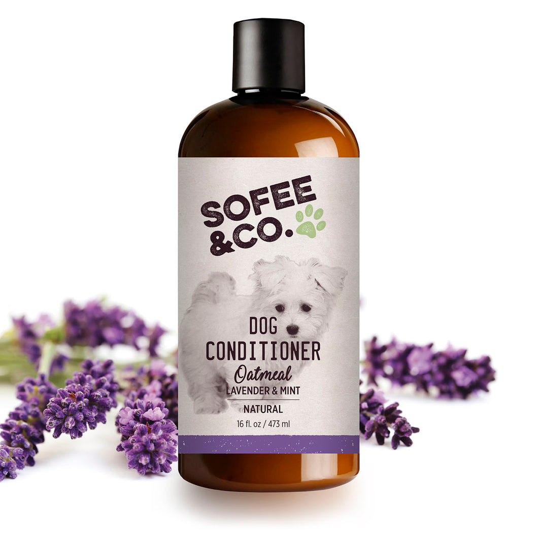 Natural Oatmeal Dog Conditioner - Lavender & Mint