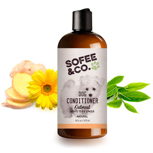 Natural Oatmeal Dog Conditioner - White Tea & Ginger