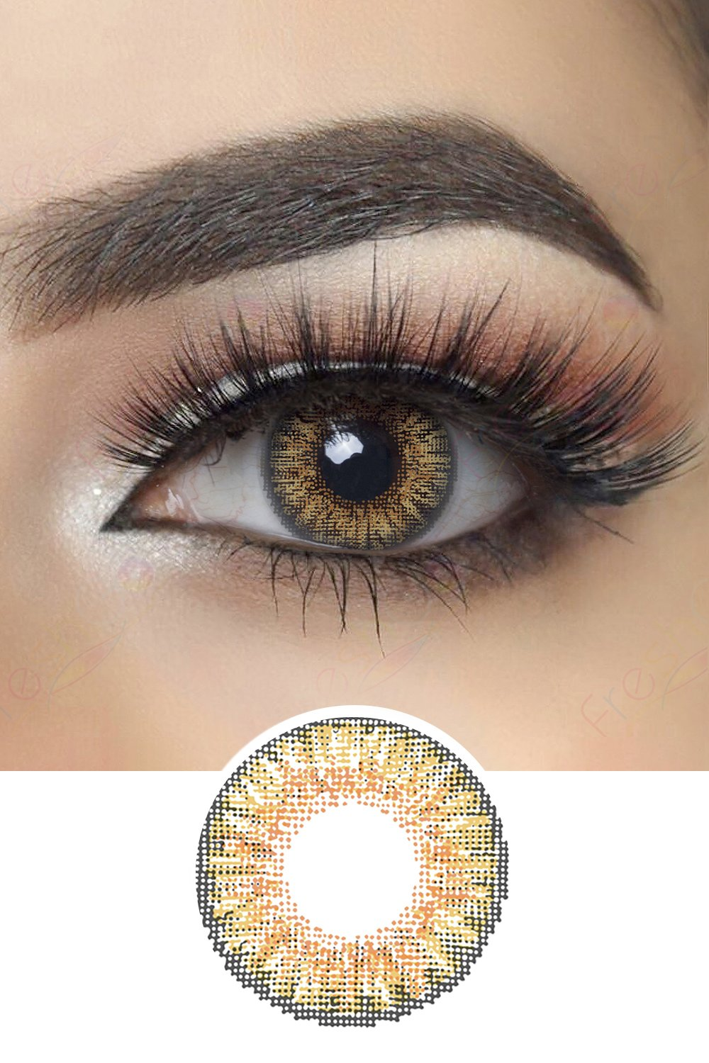 3 Tone Contact Lenses 12 Colors Available