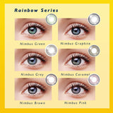 CLM™ Elliecoo Rainbow Series Contact Nimbus Caramel Contact Lenses