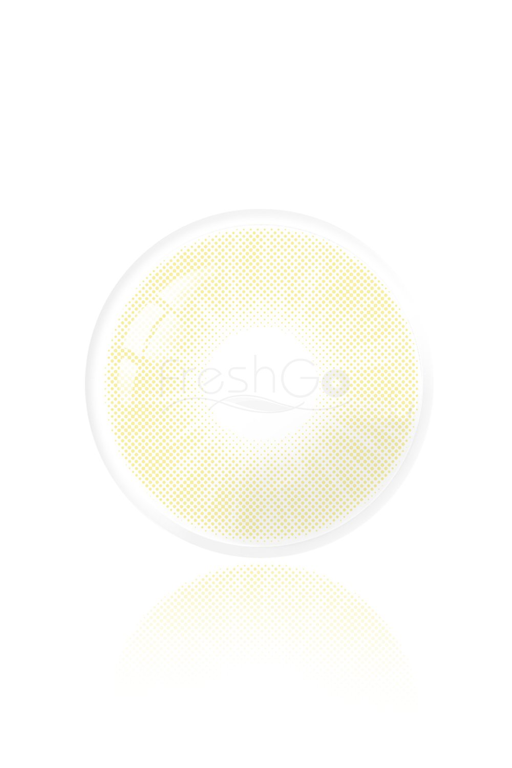 Hidrocor Amber Yellow Colored Contacts