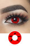 Lucky Red Halloween Contacts