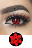 Mangekyo Sharingan Halloween Contacts for Naruto Sasuke