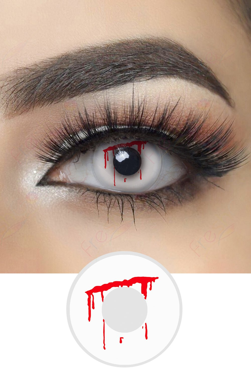 Shed Blood Halloween Contacts