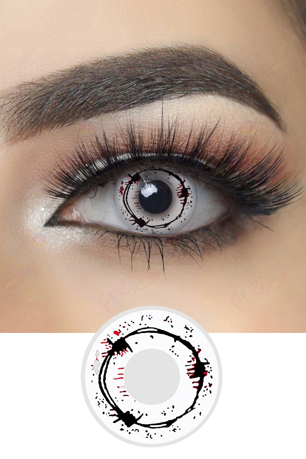 Barbed Wire Halloween Contacts