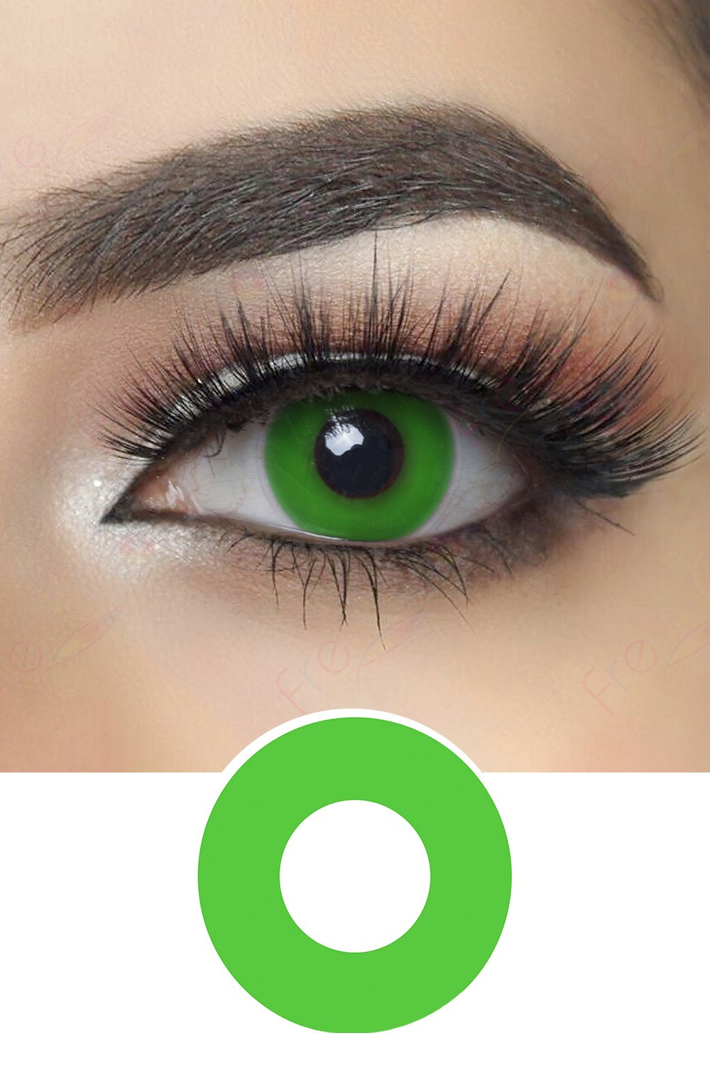 Greenout Halloween Contacts