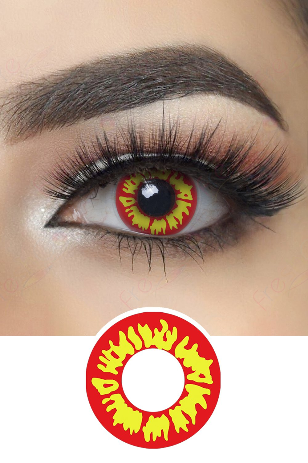 Wild Fire Halloween Contacts for Twilight