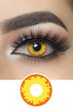 Werewolf Eye Halloween Contacts