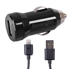 Load image into Gallery viewer, Kensington PowerBolt 1.0 Car charger for Iphone, Ipod