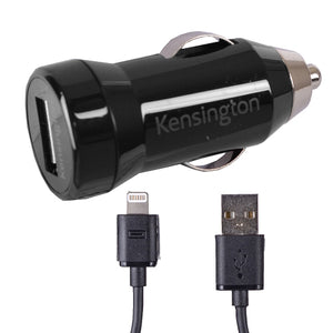 Kensington PowerBolt 1.0 Car charger for Iphone, Ipod