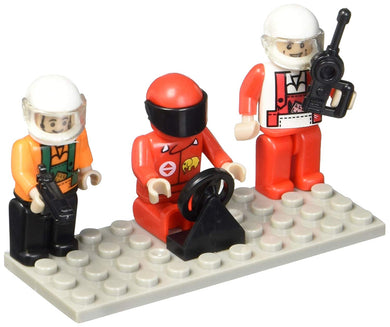 Building Block Mini-Figurines Set - Racing (Set of 3)