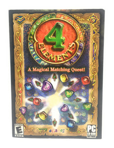 eGames 4 Elements: A Magical Matching Quest! for Windows for Age - All Ages (Catalog Category: PC Games / Puzzle )