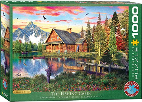 EuroGraphics (EURHR The Fishing Cottage 1000Piece Puzzle 1000Piece Jigsaw Puzzle