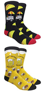 Tango11s Checkered World Men Cave Trouser Novelty Fun Crew Print Socks for Dress or Casual (at Club House 2pack)