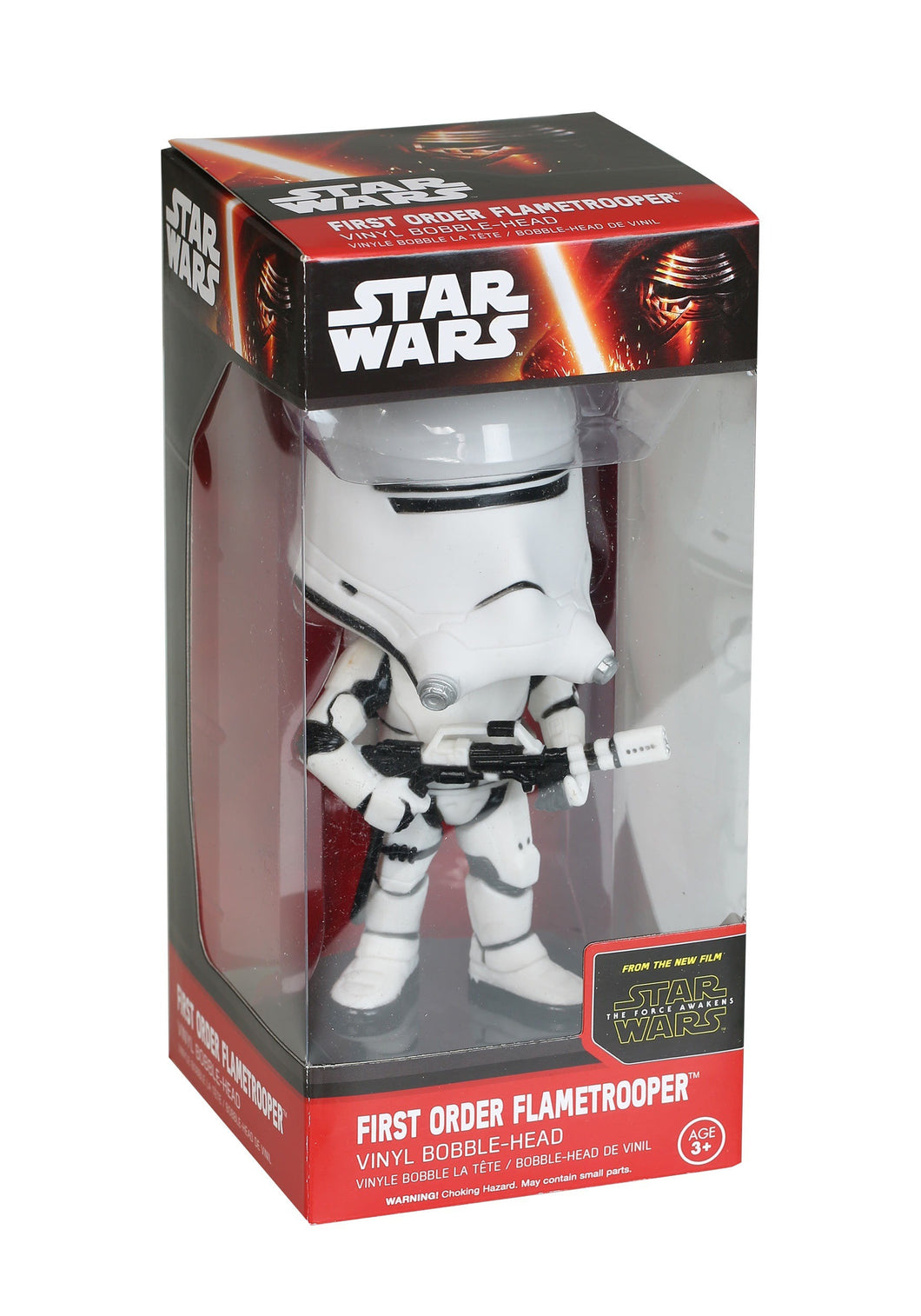 Funko Wacky Wobbler Star Wars: Episode 7 - First Order Flametrooper Action Figure