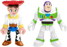 Load image into Gallery viewer, Fisher-Price Imaginext Toy Story Buzz Lightyear & Jessie, Multicolor