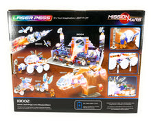 Load image into Gallery viewer, Laser Pegs Mars Rover Light Up Building Kit (200 pieces)