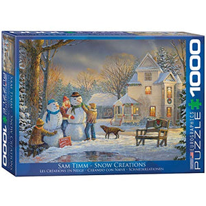 EuroGraphics Snow Creations Jigsaw Puzzle (1000-Piece)