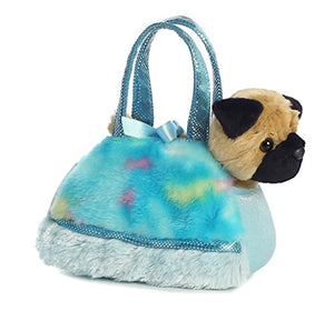 Aurora World Fancy Pals Pet Carrier, Tye Dye Blue