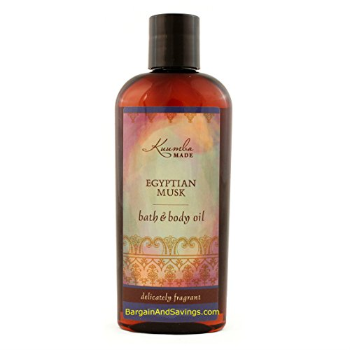 Kuumba Made Bath and Body Oil (Egyptian Musk, 6oz (177.44ml) [regular size])