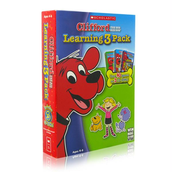 Clifford The Big Red Dog Learning 3 Pack