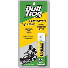 Load image into Gallery viewer, Bull Frog Land Sport Lip Balm SPF 50 0.15 oz (Pack of 3)