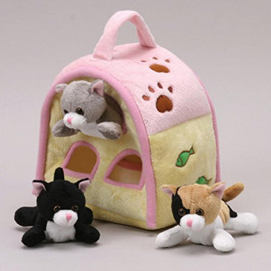 Cat Finger Puppet Play House 8