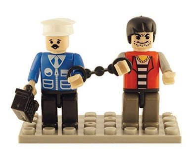 Brictek 2 Piece Policeman and Prisoner Set