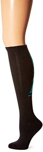 K. Bell Women's Travel Series Novelty Knee High Socks, New York (Black), Shoe Size: 4-10