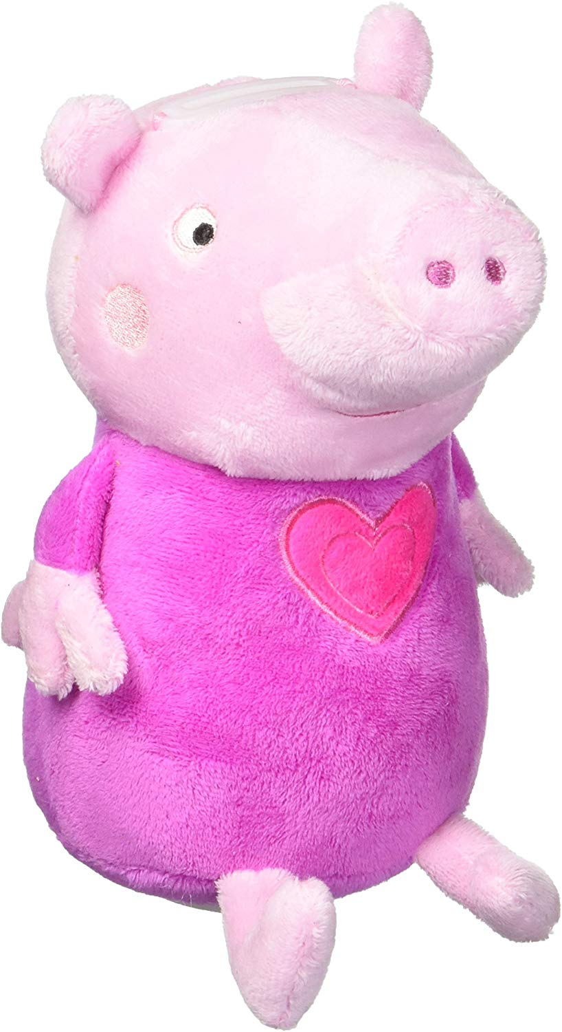 Peppa Pig Plush Coin Bank 8