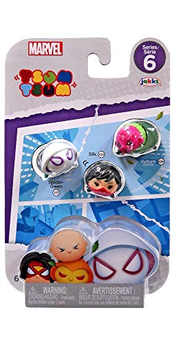 Marvel Tsum Tsum Series 6 Figure Assorted Set (Spider-Gwen)