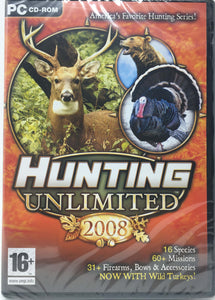 Hunting Unlimited 2008 - PC [video game]