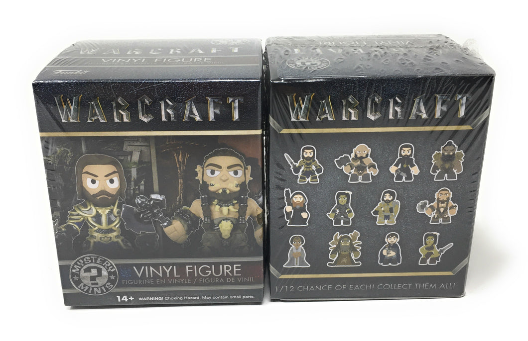 Funko Mystery Minis: Warcraft Movie Toy Action Figure (2 random mystery mini packs)