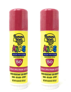 Banana Boat Kids SPF 50 Stick, 0.55 Ounce (2 Pack)