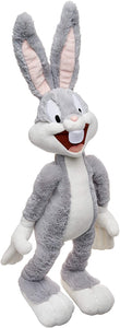 Animal Adventure | Warner Bros. | Looney Tunes | Bugs Bunny Collectible Plush, Grey/White, 19