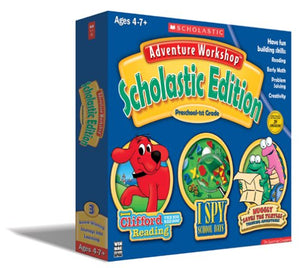 Adventure Workshop: Scholastic Edition Preschool-1st Grade by Scholastic