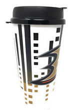 Load image into Gallery viewer, Whirley Drink Works NHL 32oz Digital Large Travel Tumbler Cups w/Lids (Anaheim Ducks)