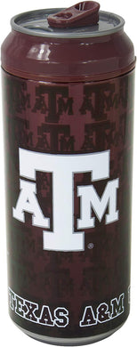 Cool Gear Texas A&M Can, 16 oz, Burgundy