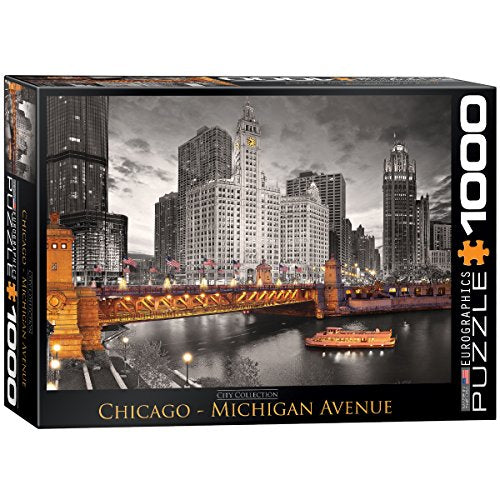 EuroGraphics Chicago Michigan Avenue Puzzle (1000-Piece)