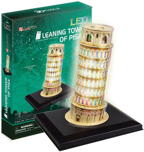 CubicFun L502H Led Leaning Towers of Pisa Puzzle