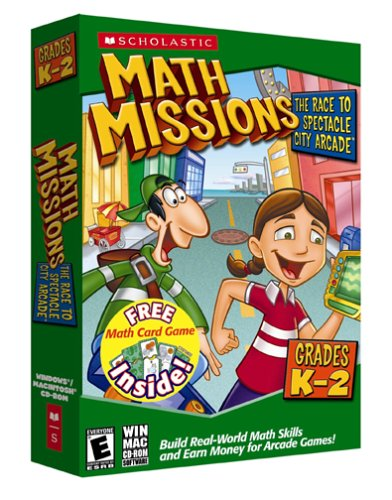 Math Missions with Card Game Kindergarten-2nd Grade [Old Version]