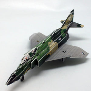 Jigsaw 3D Puzzle Plane Series - Fighter History