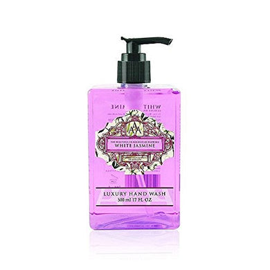 AAA Floral - White Jasmine - Luxury Moisturizing Hand Wash, Enriched with Shea Butter - 500 ml / 17 fl oz