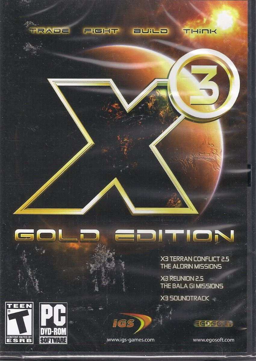 X3 Terran Conflict Gold - Windows PC Game