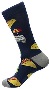 FineFit Man Cave Trouser Socks - One Size, Taco - Navy Blue