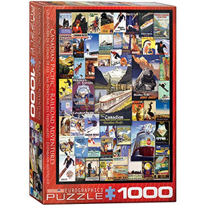 EuroGraphics Canadian Pacific Adventures Puzzle (1000-Piece)
