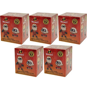 Funko Mystery Mini - The Incredibles 2 - BLIND BOXES (5 Pack Lot)