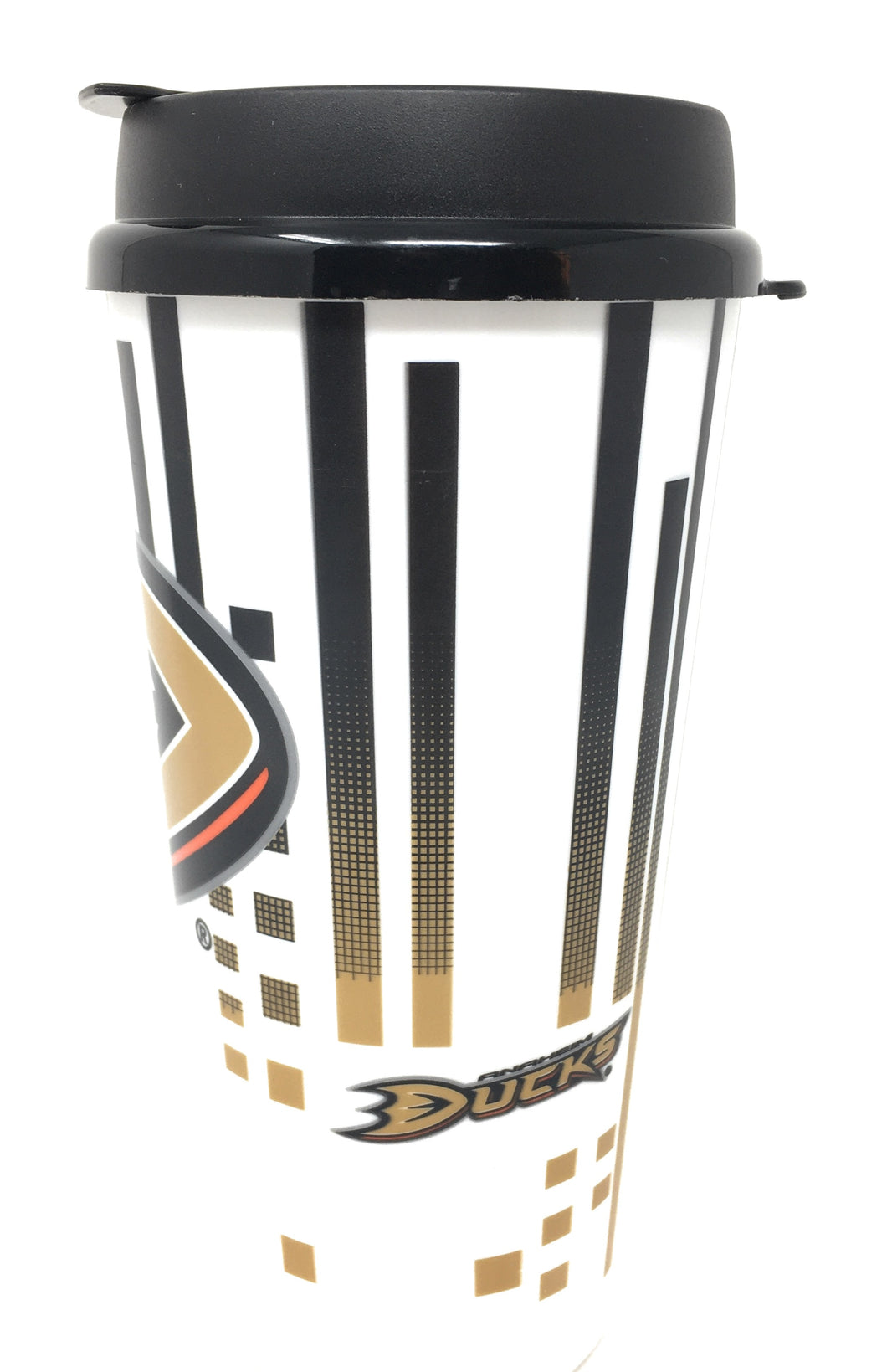 Whirley Drink Works NHL 32oz Digital Large Travel Tumbler Cups w/Lids (Anaheim Ducks)